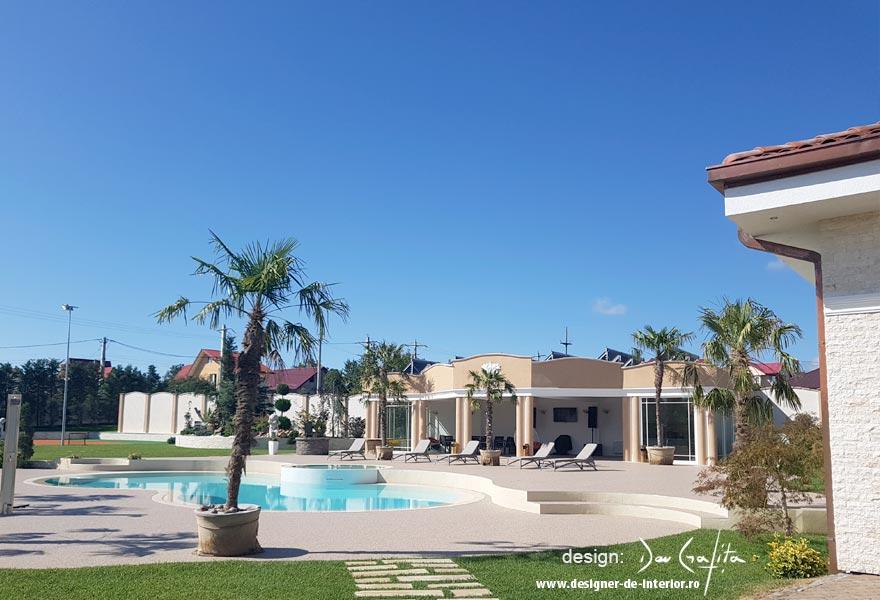 design casa - exterior piscina