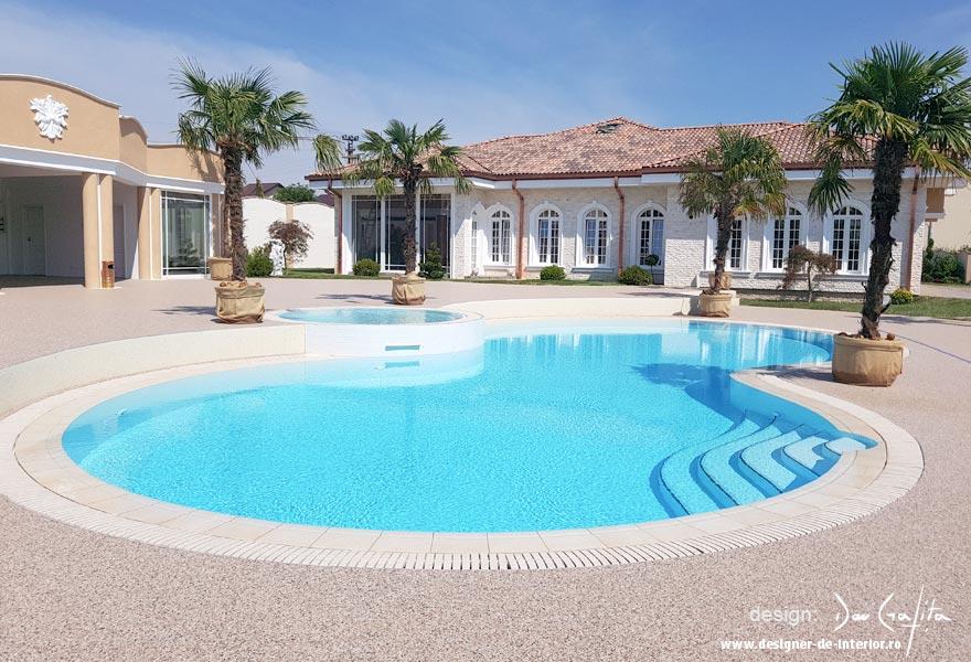 design casa - piscina
